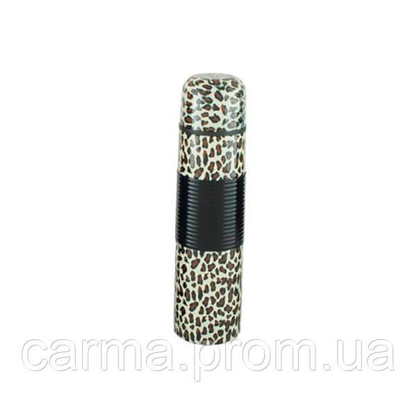 Термос UNIQUE UN-1013 0,75 л Леопард коричневый