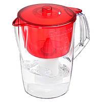 Фильтр-кувшин Барьер Норма 3,6 л Красный, фото 1
