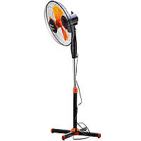 Вентилятор напольный Domotec FS-1619 Оранжевый