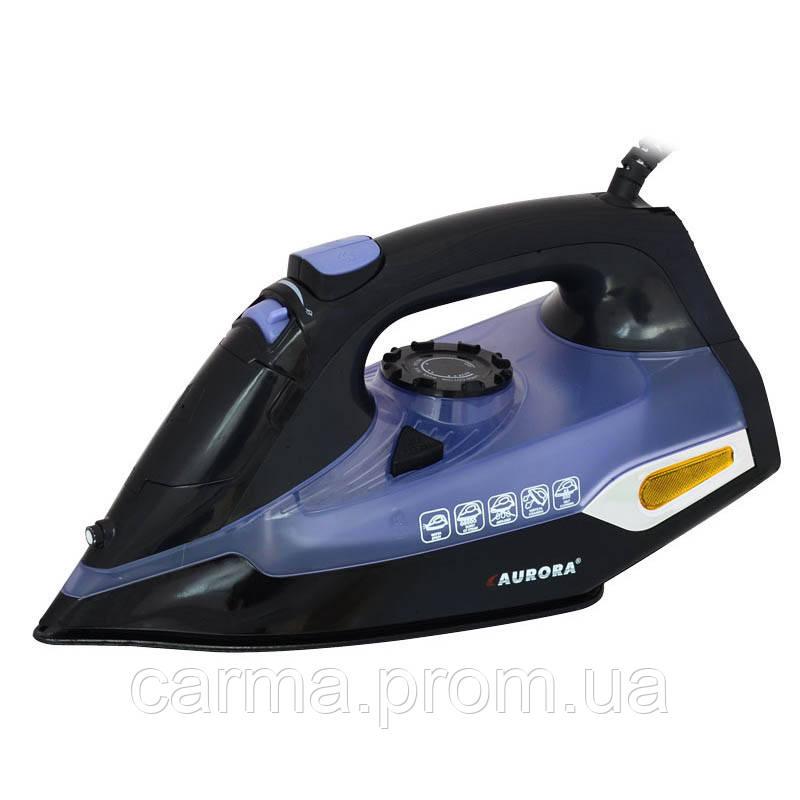 Утюг AURORA AU 3428 Черный с синим