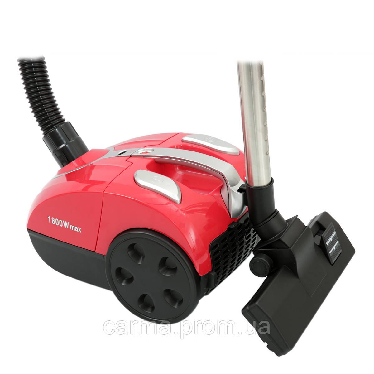 Пылесос для сухой уборки ROTEX RVB18-E Красный