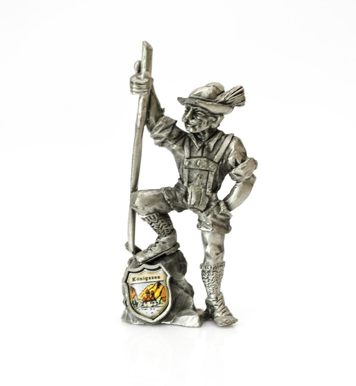 Скульптура, миниатюра, Königssee, олово,  Германия