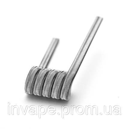 Готовая спираль Triple alien fused clapton (нихром), фото 2