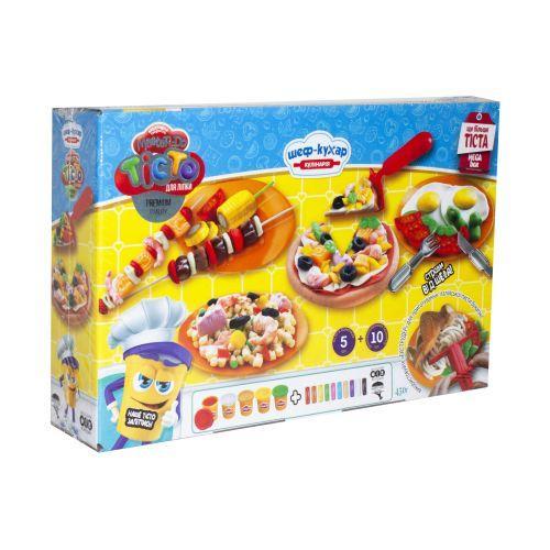 """Тесто для лепки """"Master-Do: Шеф-Повар. Кулинария"""" MEGA BOX (укр)  scs"""