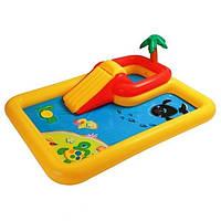 Игровой центр Intex 57454 с душем и горкой