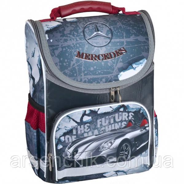 Рюкзак-коробка ортопедичний SMILE «Mercedes» 34,5×25,5×13 см
