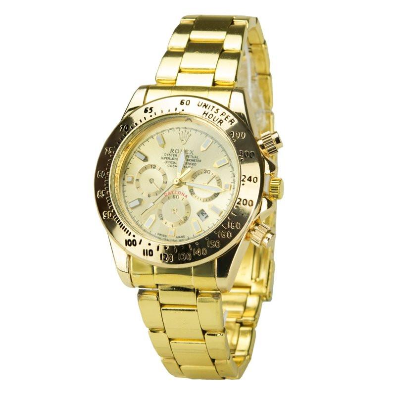 Часы мужские 7661gold-g