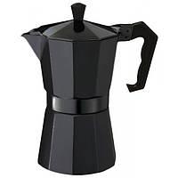 Гейзерная кофеварка EDENBERG EB-1816 300 мл Черная