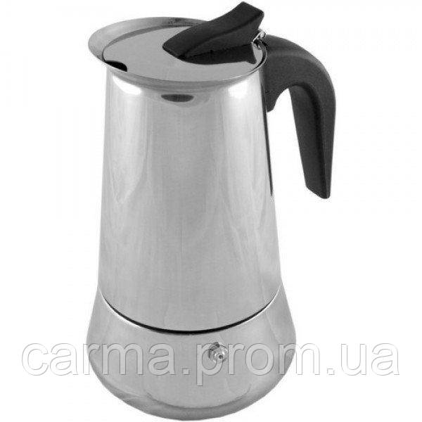 Гейзер кофеварка FRICO FRU-176 300 мл нержавейка