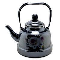 Чайник эмалированный UNIQUE UN-2307 1,1 л