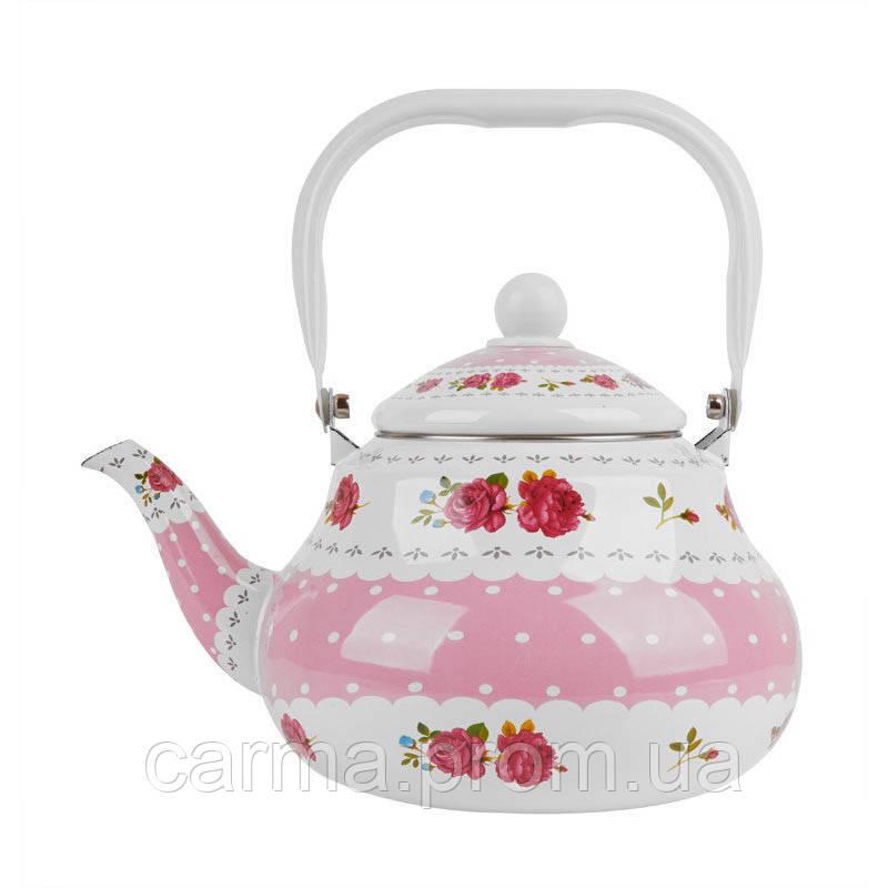 Чайник эмалированный UNIQUE UN-2305 2 л
