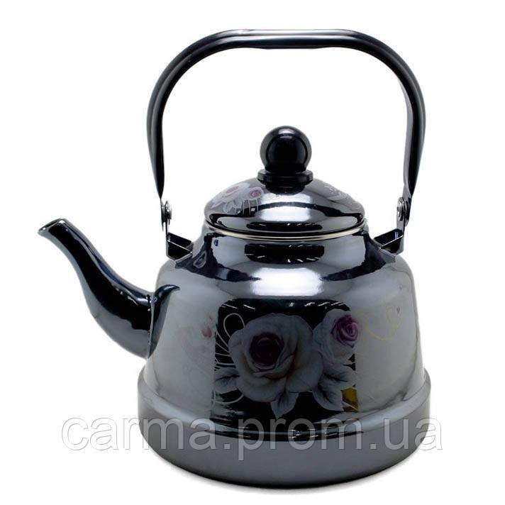 Чайник эмалированный UNIQUE UN-2309 2,5 л