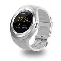 Смарт-часы умные со слотом под SIM карту Smart Watch Y1S Белые, фото 1