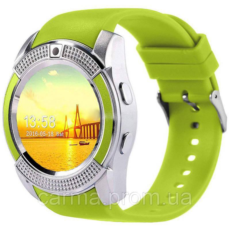 Смарт-часы умные Smart Watch V8 Зеленые