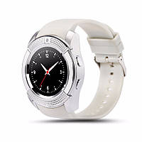 Смарт-часы умные Smart Watch V8 Белые, фото 1