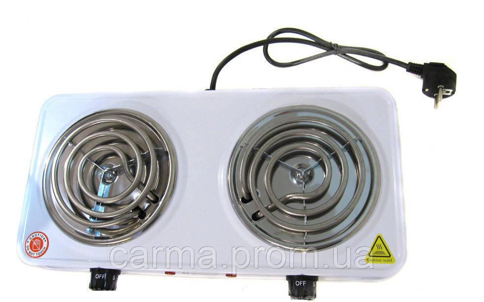 Электроплита настольная Domotec MS-5802 Белая