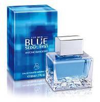 Мужская туалетная вода Antonio Banderas Blue Seduction for Men (Антонио Бандерос Блю Седишен фо Мен)
