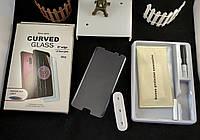5D full glue защитное стекло для Samsung Galaxy S7 Edge G935F с ультрафиолетовым клеем (полная проклейка)