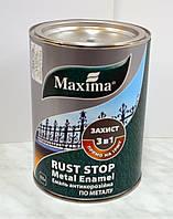 Молотковая антикоррозионная краска 3 в 1 Maxima 0,75л.