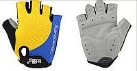 Велосипедные перчатки беспалые  спортивные перчатки