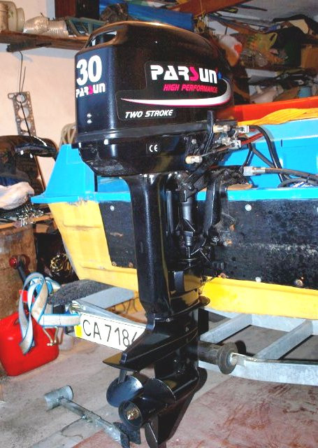 Лодочный мотор Parsun T30FWS