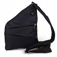 48f3c32b66c4 Мужская сумка Cross Body 4634 Мессенджер антивор на плечо рюкзак слинг  Чёрная