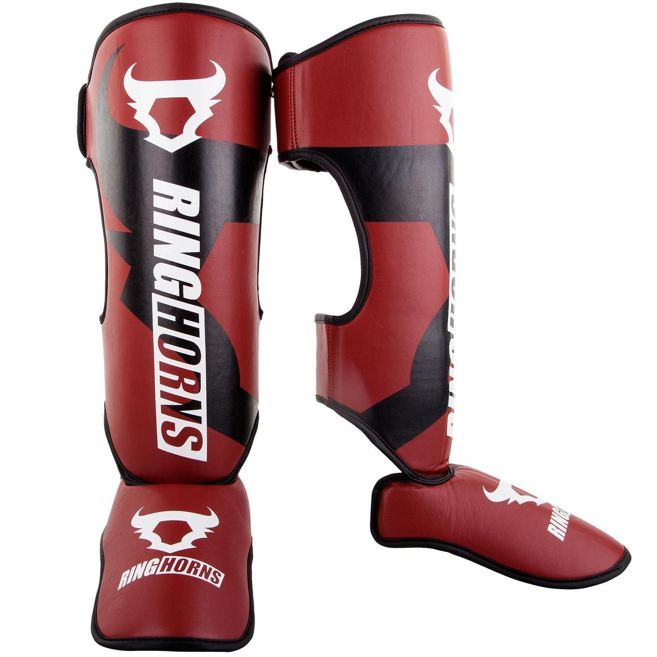 Защита ног (Щитки) Ringhorns Charger Красные с черным