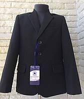 Костюм тройка на мальчика школьный чёрный 9-11 лет, фото 1