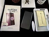 5D full glue защитное стекло для Samsung Galaxy S9 G960F с ультрафиолетовым клеем (полная проклейка)
