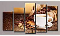 "Модульная картина на холсте ""Кофе с корицей 3"""