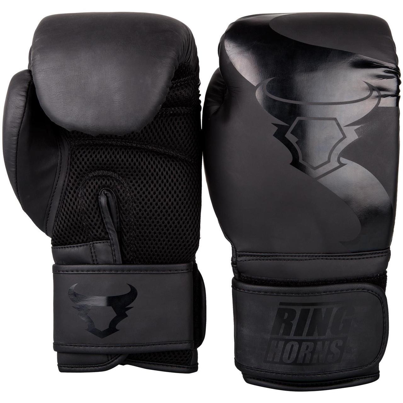Боксерские перчатки Ringhorns Charger Черные