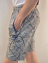 Шорты мужские трикотажные с молниями на карманах М - 5XL ( Венгрия ), фото 2