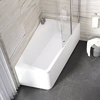 Акриловая ванна 10 градусов (L/R) 170x100