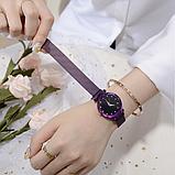 Женские часы Baosaili Starry Sky Black на магнитном ремешке, фото 8