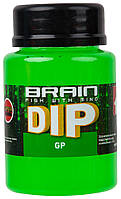 Діп для бойлов Brain F1 GP (зелений горошок) 100ml