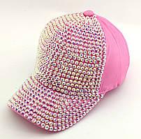 Детская бейсболка кепка с 52 по 56 размер детские бейсболки кепки летние для девочки в стразы