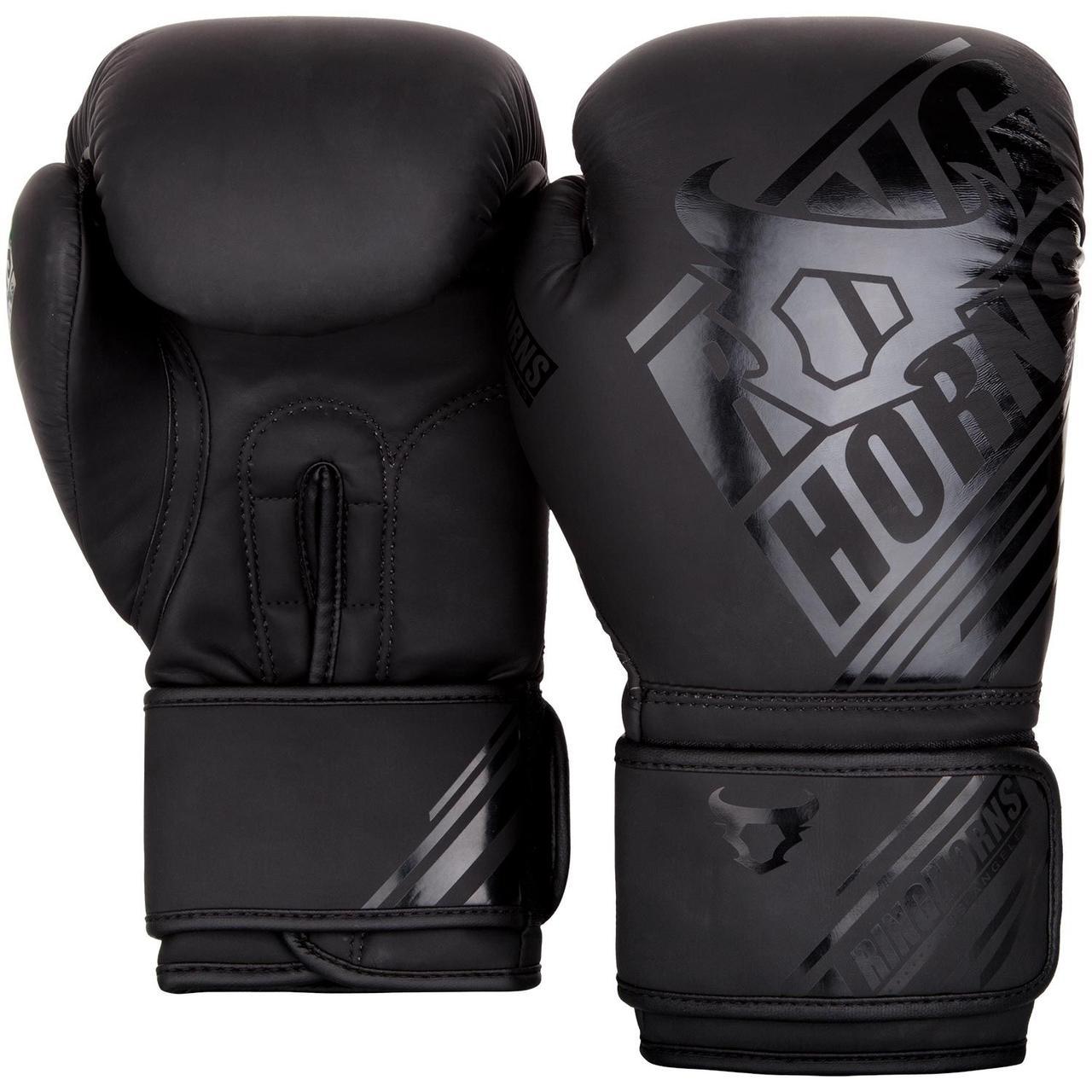 Боксерские перчатки Ringhorns Nitro Черные