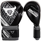 Боксерські рукавички Ringhorns Nitro Чорні з білим, фото 2