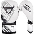 Боксерские перчатки Ringhorns Nitro Белые с черным, фото 4