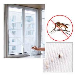 Москитная сетка на окно,150*150 на липучках.