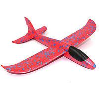Самолет Планер, Детский Самолетик для метания, поролоновый самолет