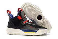 Мужские кроссовки Nike Air Jordan 33 синие