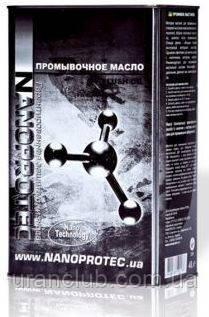 Промывочное масло Nanoprotec  Flush 4 л.