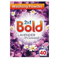 Порошок для стирки Bold Lavender лаванда 2 in 1 40 стир.