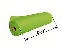 Простыни одноразовые в рулоне 0.8х100 м, 23 г/м2 - Зеленые (салатовые)
