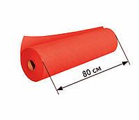 Простыни одноразовые в рулоне 0.8х100 м, 23 г/м2 - Красные