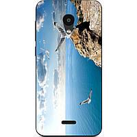 Чехол силиконовый с картинкой для Meizu C9 Небо