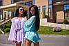 Женский комбинезон-шортами на пуговицах в расцветках. А-10-0818, фото 9
