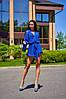 Женский комбинезон-шортами на пуговицах в расцветках. А-10-0818, фото 8