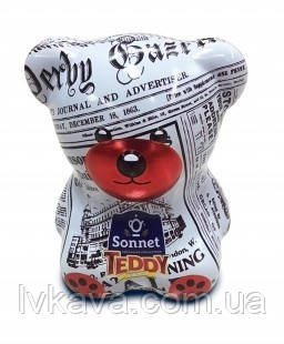 Чай черный Sonnet Teddy Morning Press ,ж\б, 25 пак х 2 гр